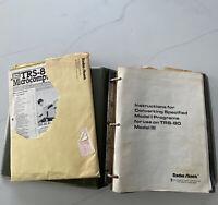 Radio Shack Tandy TRS-80, Microcomputer News Magazine Binder Lot