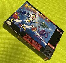 Mega Man X * Snes Box Only * Super Nintendo Original box