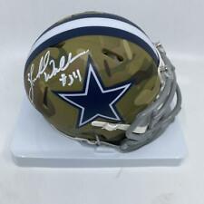 Herschel Walker Signed Dallas Cowboys Camo Mini-Helmet