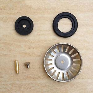 Edelstahl Küchenspüle Ablaufstopfen Korb Sieb Abfallstopfen 78mm  F3