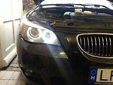 ►2 BMW 5er E60 ANGEL EYE EYES Standlichtringe XENON LED