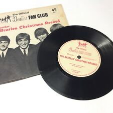 The Official Beatles Fan Club 'Another Christmas Record' Flexi Disc EX/EX- Nice!