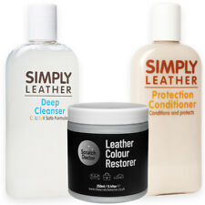 LIGHT GREY Leather Cleaner, Conditioner & Restorer for Sofa, Bags, Shoes, Jacket