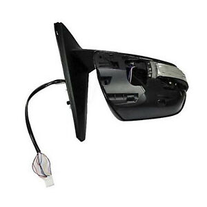 2010-2013 For Toyota 4Runner LH Driver Side Heat W/ Turn Signal Mirror, Primered
