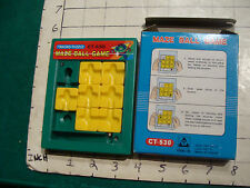 scarce--MAZE BALL GAME in box, FROM chiao te TAIWAN, VERY COOL TOY 1992 purchase
