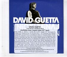 (HL152) David Guetta, Turn Me On ft Nicki Minaj - 2012 DJ CD