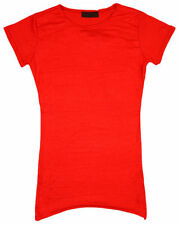 Girls' Short Sleeve Sleeve Crew Neck Tunic T-Shirts & Tops (2-16 Years)