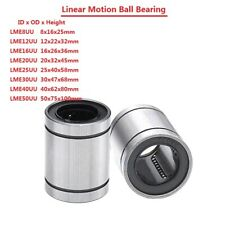 Linear Motion Ball Bearing Machinery Slide Bushing LME8/12/16/20/25/30/40/50UU