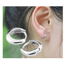 Women's Fashion Hook Ear Studs Silver Plated Jewelry Wedding Enagement Gift New