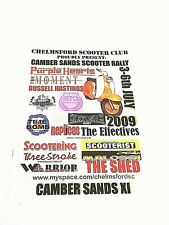 Camber Sands Scooter Rally Official Programme 2009