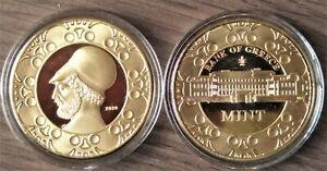 World Money Fair Berlin Berlijn 2020 penning Griekse munt speciale beursuitgifte