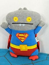 Babo As Superman Ugly Doll DC Comics Plush Toy Stuffed Animal