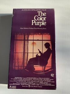 The Color Purple - New Sealed VHS Tape