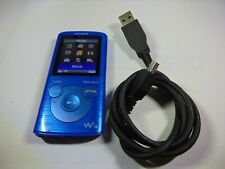 SONY WALKMAN NWZ-E384 Digital Media Player 8GB Blue.