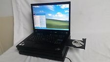 "IBM Thinkpad T61 Laptop Windows XP Pro Operating system MS Office 2007 15.4"" LCD"