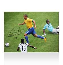 R Signed European Player/Club Football Photos