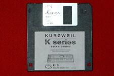 Disquette Choeur Pad programmes correctifs. Convient pour Kurzweil k2000 k2661 k2500 k2600 pc3k