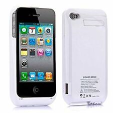 Power Bank Chargeur de batterie portable cas de Sauvegarde Externe Pack pour iPHONE 4 ✔ 4 s 4 g