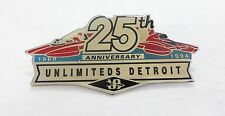 Vintage 25th anniversary unlimited Detroit thunderbolts pin souvenir