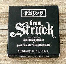 Kat Von D KVD Brow Struck DARK BROWN Dimension Powder NEW