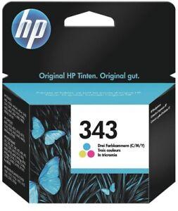 Original HP 343 TriColour C8766E Neu Ohne OVP / Original versiegelt  Deskjet1000