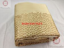 Hotel Collection Mosaic KING Embroidered Duvet Cover Gold