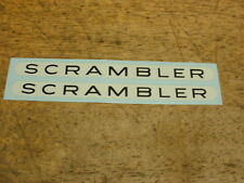 Schwinn Approved Scrambler Bicycle Decal Set Bmx Musclebike &
