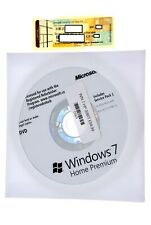 Windows 7 Home Premium Service Pack 1 Official Operating System DVD Code Sticker