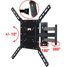 "Articulating TV Wall Mount 39"" 40 42 46 47 48 50"" LED LCD Tilt E48-D0 E50-D1 CB6"