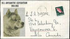 Cover NEW ZEALAND 1972 ANTARTIC EXPEDITION to VANCOUVER, BC