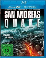 SAN ANDREAS QUAKE 3D blu ray ( includes 2D version )  ( NEW )