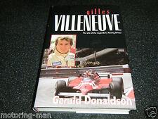 Gilles Villeneuve Original 1ST Edición Ferrari 126C2 126C 308GTB 312T4 McLaren