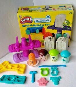 Vintage Play-Doh Disney Pixar Monsters Inc. Mold-A-Monster Set