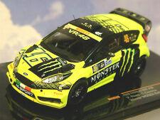 IXO 1/43 FORD FIESTA RS WRC #46 WINNER MONZA RALLY 2015 VALENTINO ROSSI RAM620