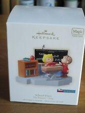 New ListingSnoopy / Peanuts Hallmark Ornament School Days 2008