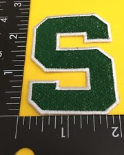 Go Spartans!! Michigan State ☝️iron on Patch ....