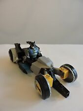 Gotham City Racer vehicle THE BATMAN ShadowTek 2007 Mattel Bat-Cycle motor bike