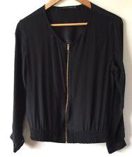 Gorgeous Zara Woman Black Jacket Size Eur XS