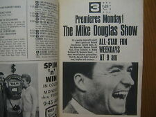 1965 TV Guide(MIKE DOUGLAS DEBUT/THE ADDAMS FAMILY/GERALDINE BROOKS/DOBIE GILLIS