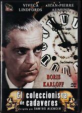Boris Karloff: EL COLECCIONISTA DE CADÁVERES de Santos Alcocer.
