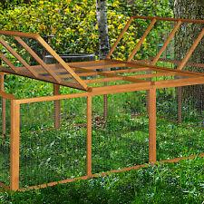 4ft XL Chartwell Rabbit Run Guinea Pig Cage Outdoor Garden Deluxe Playpen Fence