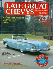 1993 Late Great Chevys Magazine: Vol 14 No 1: Pat Zeiber's 1958 Convertible