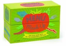 Menu Mash-Up : The Food Game with All the Ingredients for Fun! by Karen Hudes (2