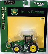 John Deere Britains ERTL 8330 Wheeled Model Tractor with Dual Wheels 1:64 15920
