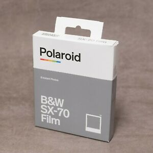 Polaroid SX-70 BLACK & WHITE Film - 8 Instant Exposures