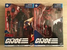 GI Joe Classified Cobra Trooper, Red Ninja, & Arctic Mission Storm Shadow Cobra