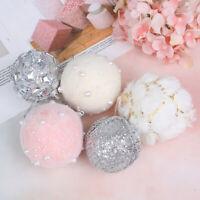7/8cm Christmas Tree Rhinestone Glitter Foam Hanging Ball Decor for Home SE