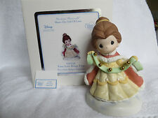 """Precious Moments #131039 Disney's Belle  """"Your Love Rings True"""" Figurine NEW"""
