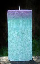 200hr BLUE SAGE & FIR Pine Forest Scent ARTISTIC CANDLE Landscaper Gardener Gift