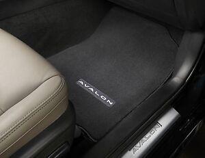 Toyota Avalon 2013 - 2018 Black Factory Carpet Floor Mats Genuine OEM OE